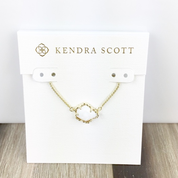 a17d7de6f Kendra Scott Jewelry | Tess White Pearl Gold Necklace | Poshmark